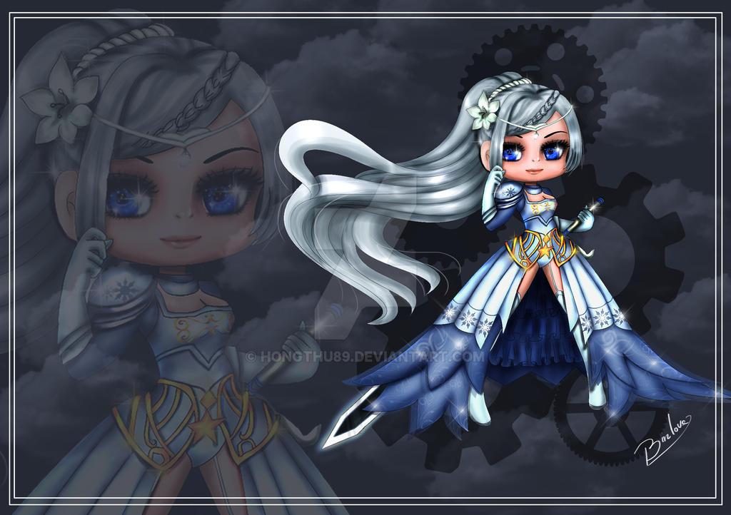Fanart - Chibi : Games Star Fashion 360 by HongThu89