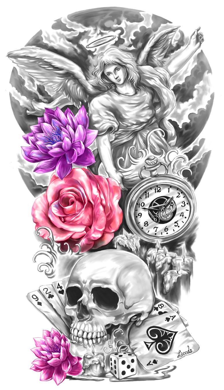 dibujos de dise o de tatuajes dise os de tatuaje de manga and tatuajes de medias mangas on. Black Bedroom Furniture Sets. Home Design Ideas