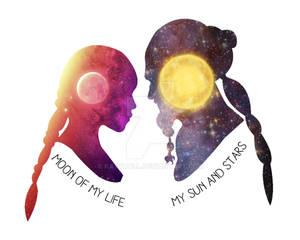 Moon of My Life - My Sun and Stars