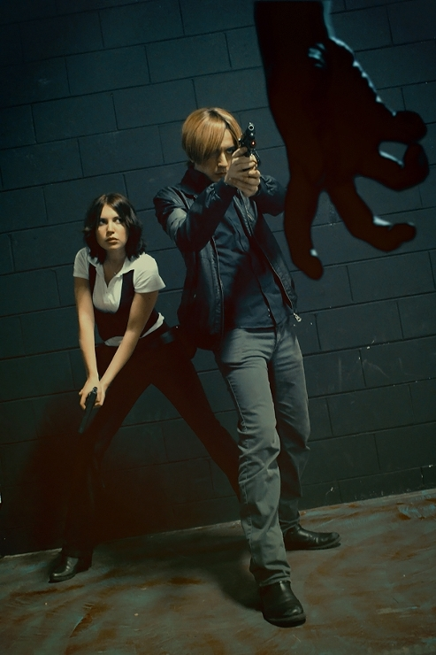 Leon S. Kennedy and Helena Harper from RE6 by Akiba91