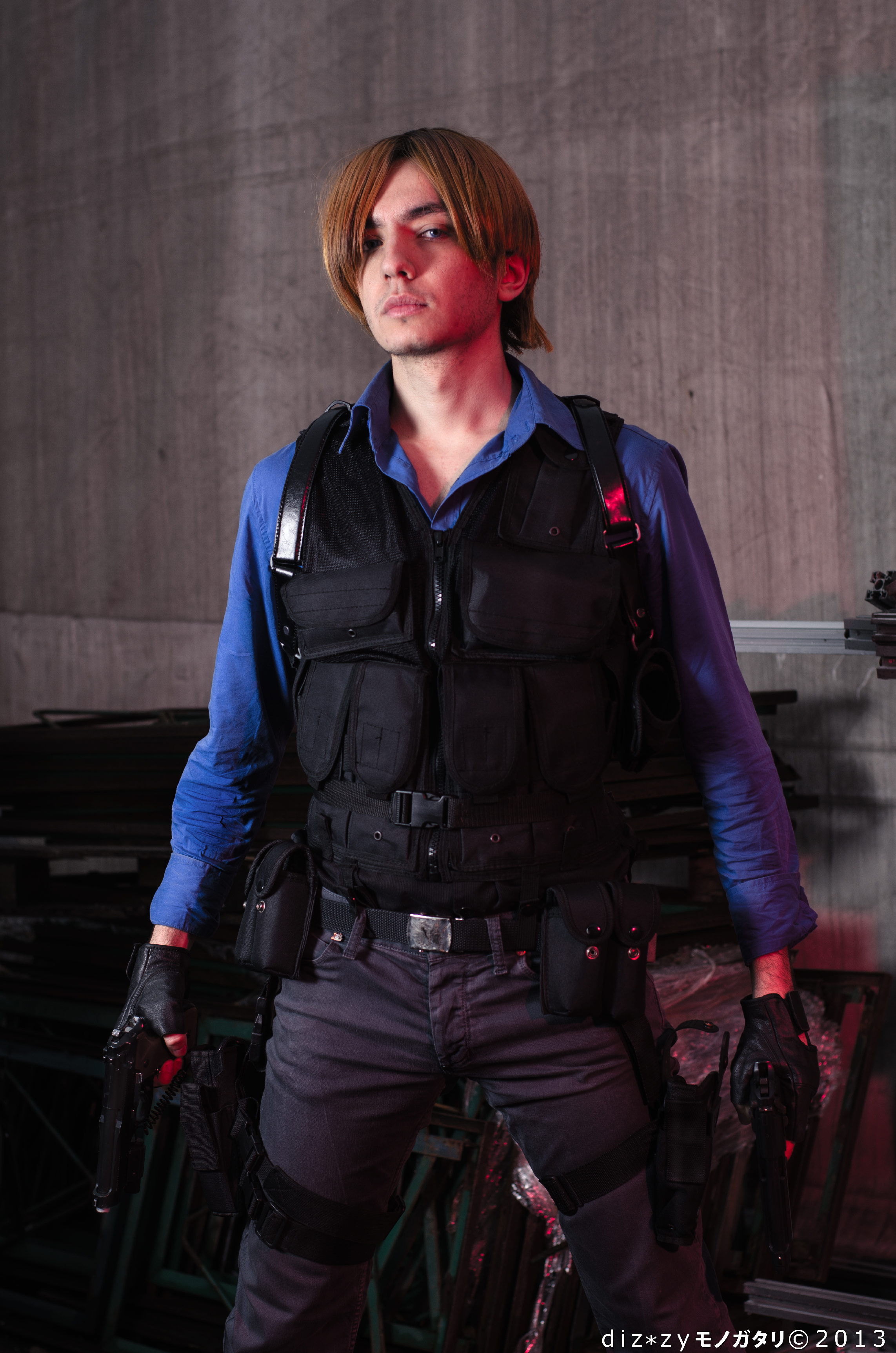 Leon S Kennedy From Resident Evil 6 5 By Akiba91 On Deviantart