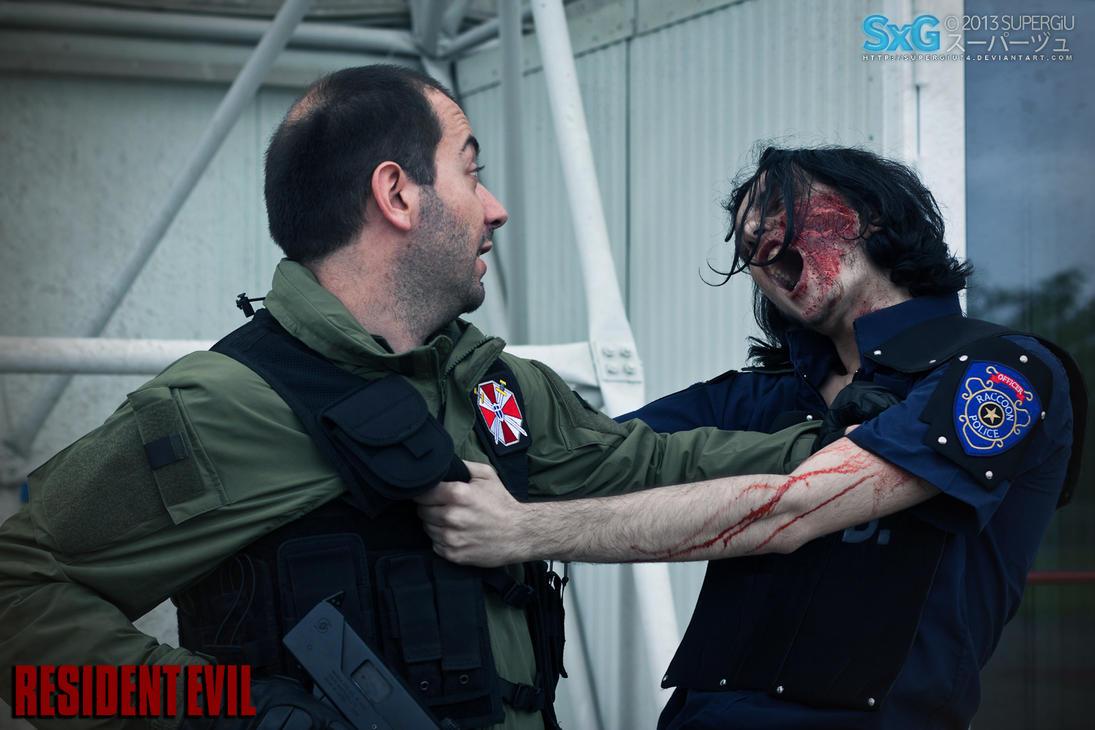Resident Evil - RPD Zombie by Akiba91
