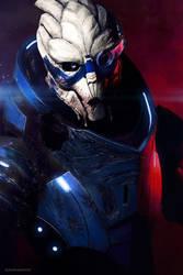 Garrus Vakarian - Mass Effect 2 #1 by Akiba91