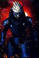 Garrus Vakarian - Mass Effect 2 #2 by Akiba91