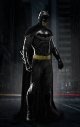 Batman Cosplay Concept - Based on NEW52 by Akiba91
