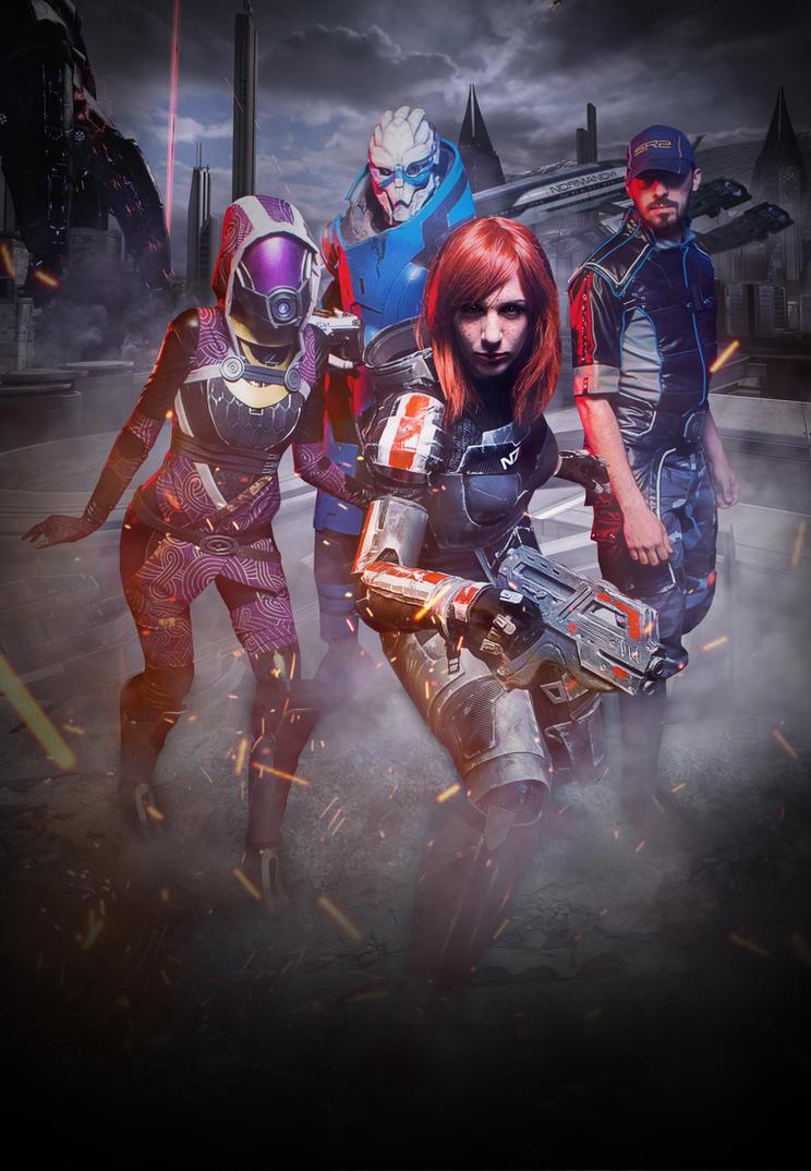 Mass Effect Team! by Akiba91