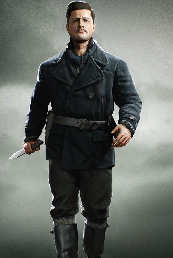 Aldo Raine - Lowpoly Videogame Character by Akiba91