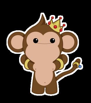 Rich monkey by BlueBubble-L