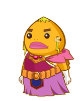 The legend of goron - zelda by BlueBubble-L