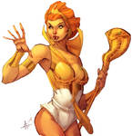 Teela Coloured by kuewa