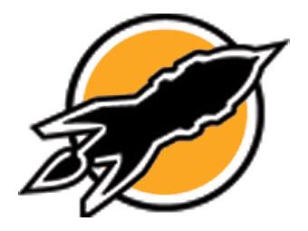 retro rocket logo by theambushbug on deviantart