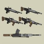 Dieselpunk Automatic rifle