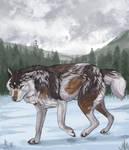 Snowy Ych Fin (SPEEDPAINT ADDED)