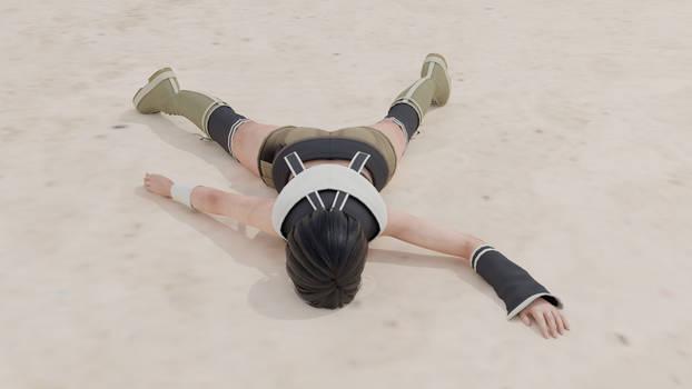 [REQUEST] Yuffie Kisaragi stomped down 07