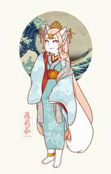 goddess of healing by Loliitea