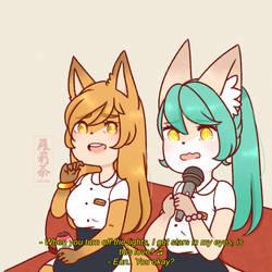 karaoke night by Loliitea