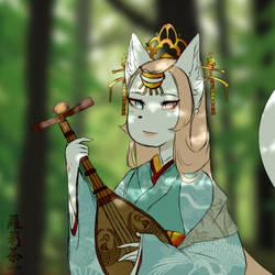 ballad of goddess fumika by Loliitea