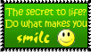 Do what makes you Smile by XStitchedxDreamsX