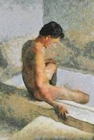 the bath: no steam by montroytana