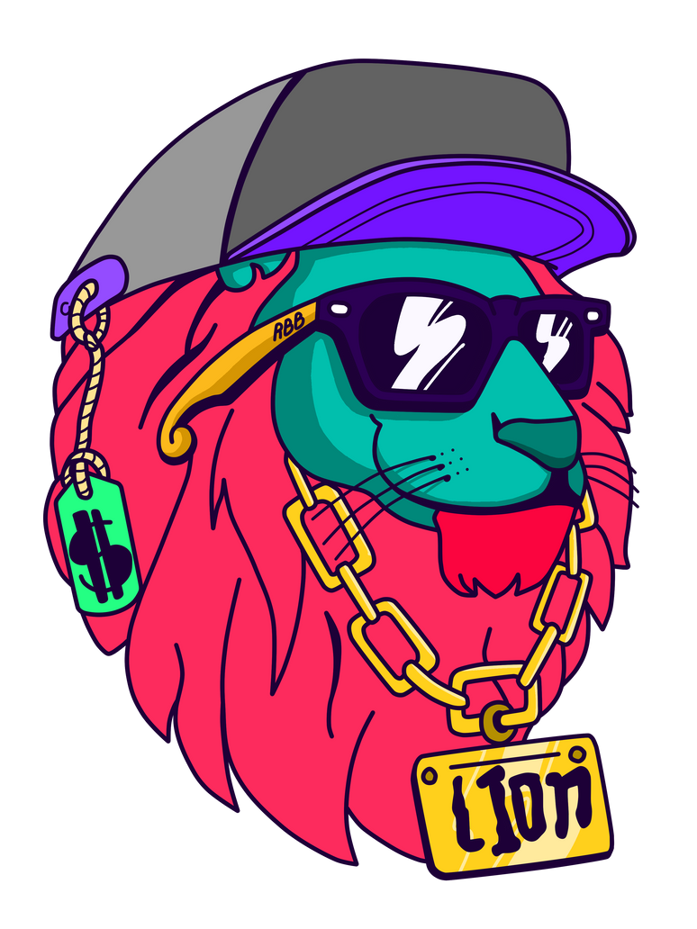 Young lion swag by rubenborges
