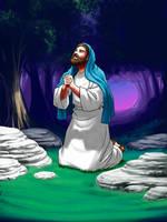 Gethsemane by Designed-One