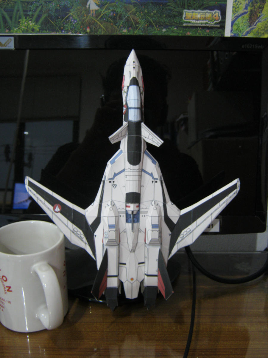 YF-19 Papercraft by MakotoSei