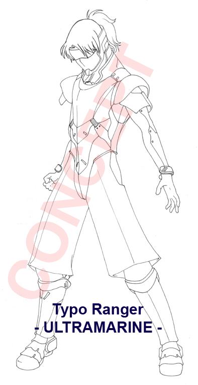 Typo Ranger Concept by MakotoSei
