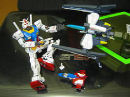 Gundam meet RVR-01 Gauntlet by MakotoSei