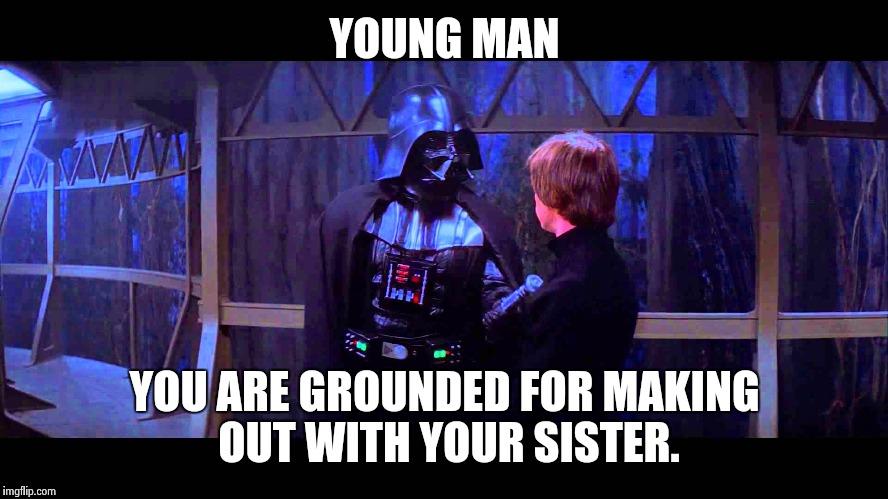 Darth Vader Parenting With Luke By Elementleithium On Deviantart