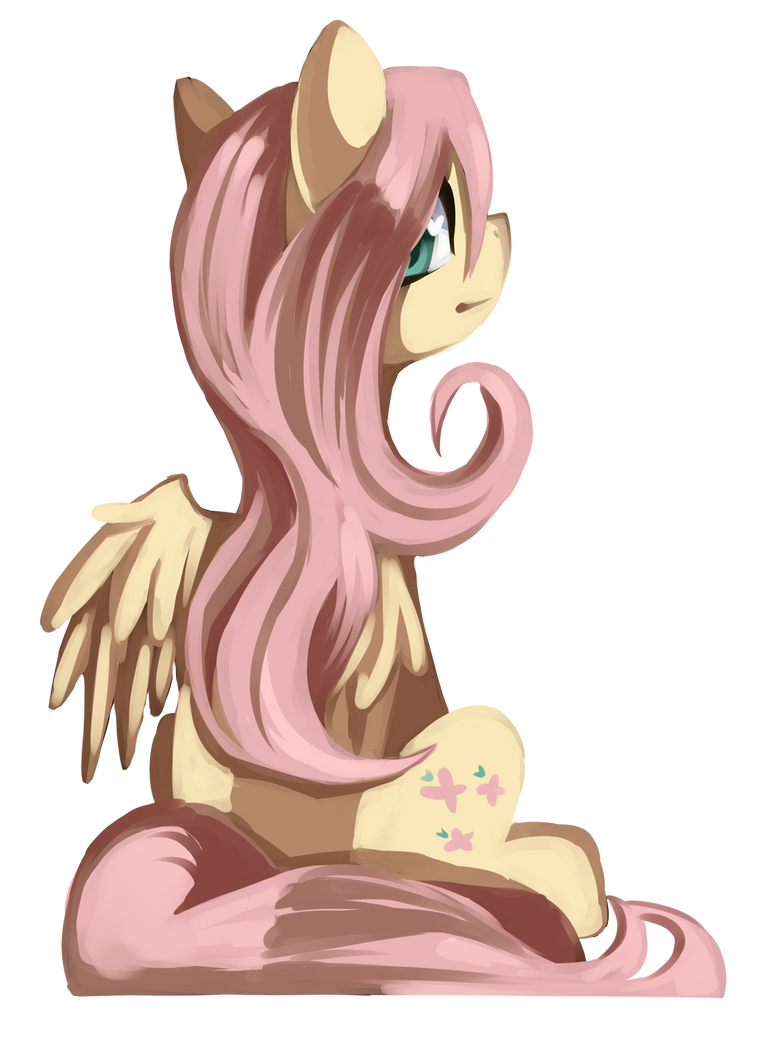 Just Fluttershy by kmrShy
