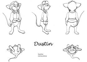 Character Design: Dustin by Scyoni