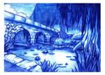 Swampish Pond by Scyoni