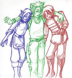 Group shot! by Scyoni