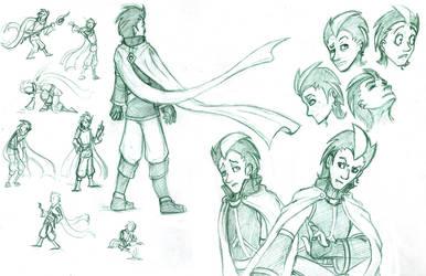 Fraze Sketches 2 by Scyoni