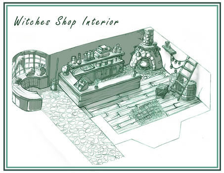Design - Shop Interior by Scyoni