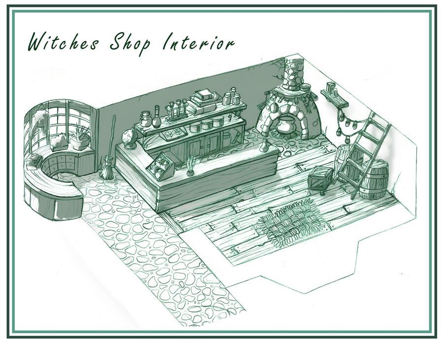 Design - Shop Interior by Scyoni