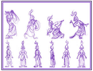 Rabbit Maiden by Scyoni