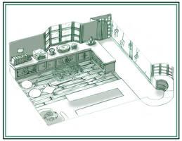 Design - Shop Interior2 by Scyoni