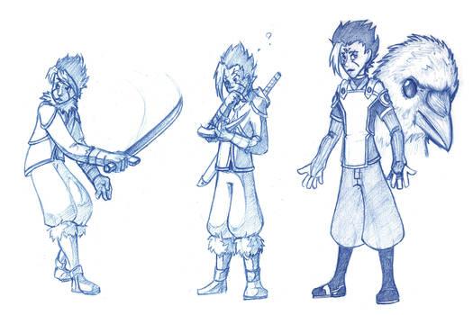 Icarus Sketches