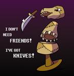 I've got KNIVES! by Scyoni