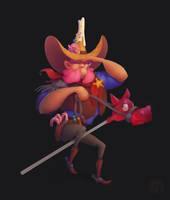 Candyman sheriff by Klodia007