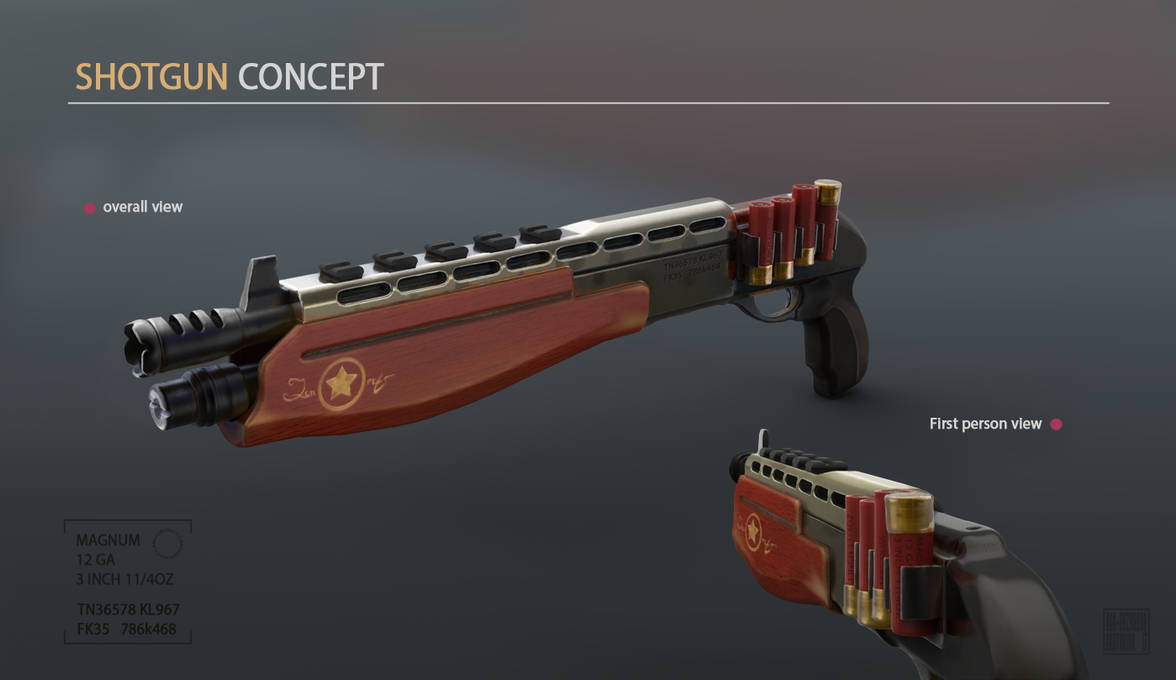 Shotgun-concept by Klodia007