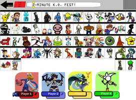 Indie Wars Roster by Popman71