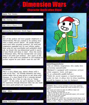 Dimension Wars Character Application Sheet (Phil)