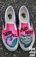 Cheshire Cat Shoes by BBEEshoes