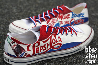 Pepsi Shoes by BBEEshoes