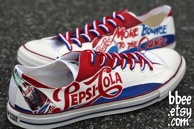 Coca Cola Converse Shoes