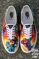 Marvel Comic Shoes