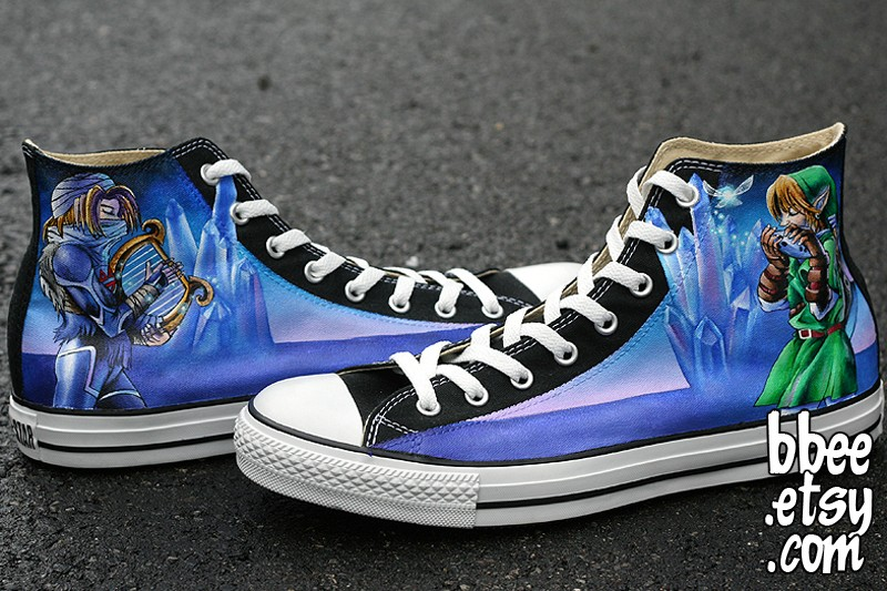 Zelda Converse by BBEEshoes