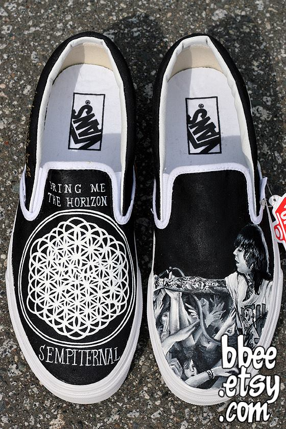 Bring Me The Horizon Sempiternal Shoes by BBEEshoes